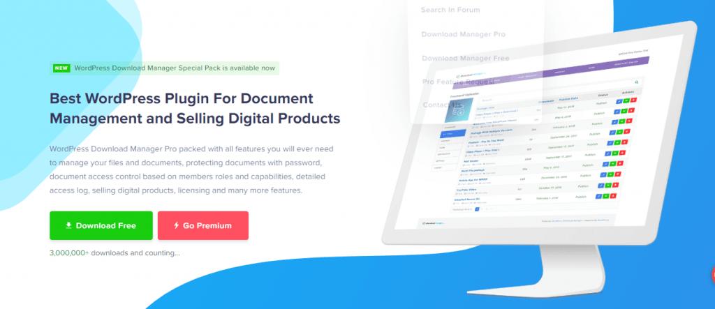 WordPress Download Manager Pro