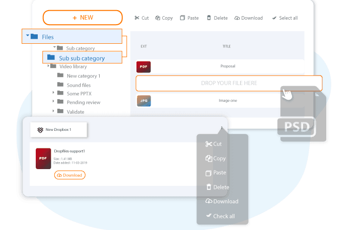 Wp File Download Drag And Drop