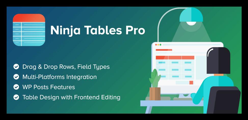Ninja Tables plugin