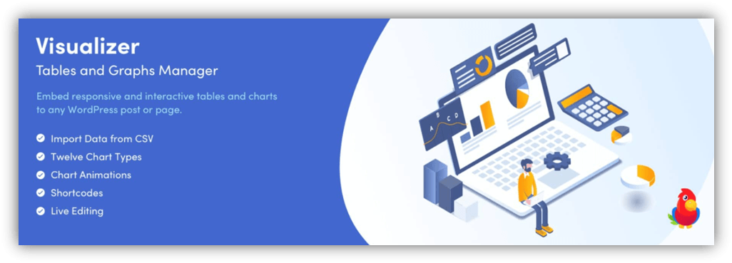 Visualizer Tables and Charts plugin