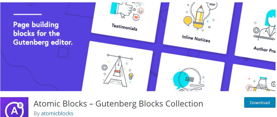 Atomic Block Gutenberg Plugin
