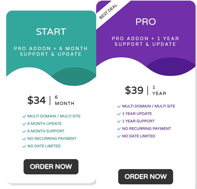WP latest posts plugin pricing