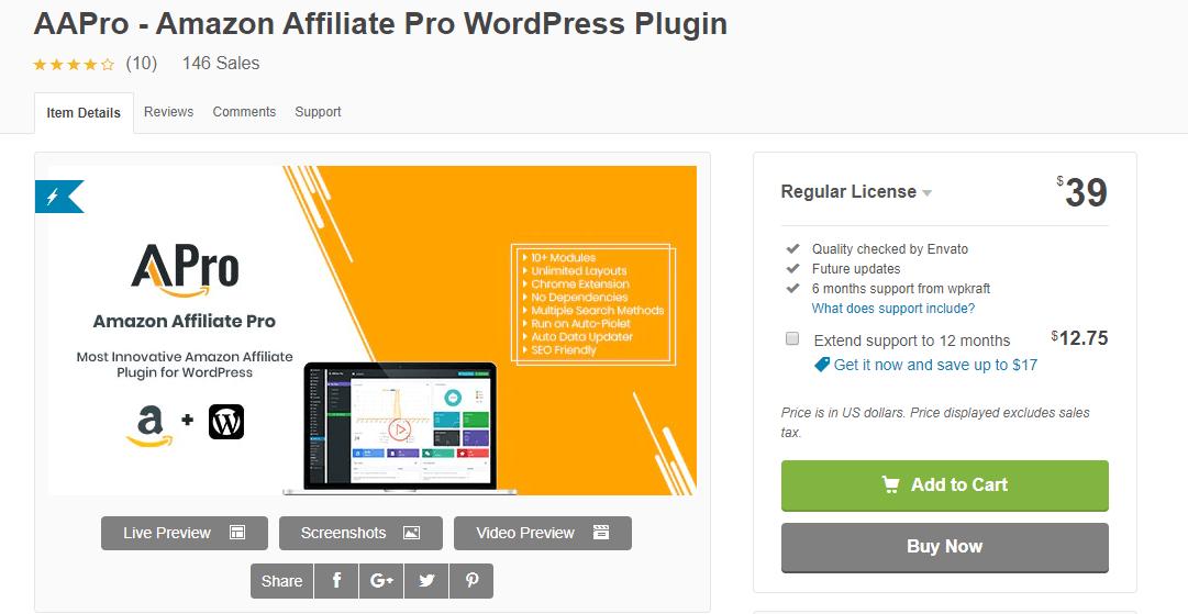 Amazon Affiliate Pro (AAPro)