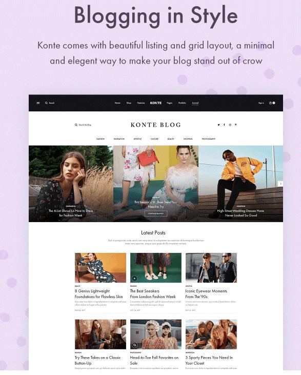 blogging in styles