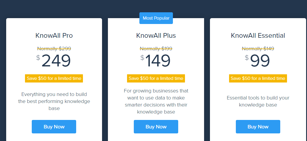 KnowAll Theme Pricing