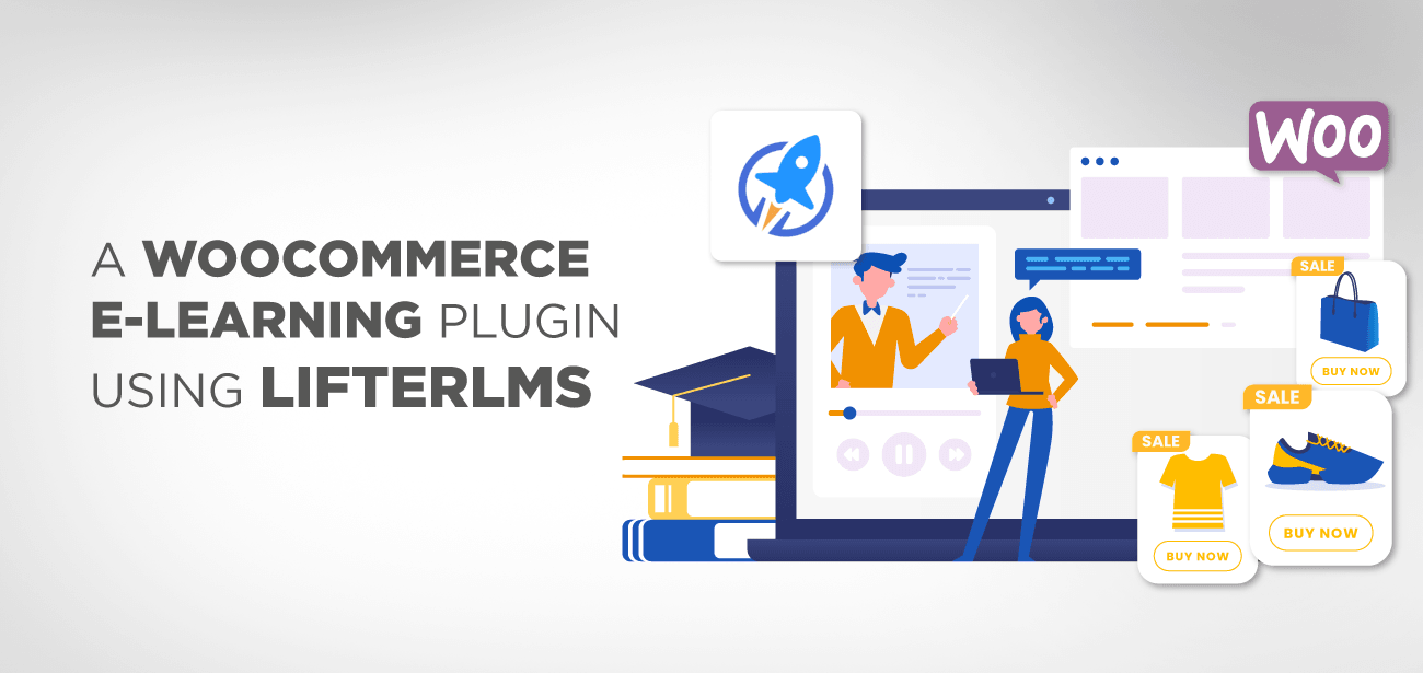 A WooCommerce e-learning plugin using LifterLMS
